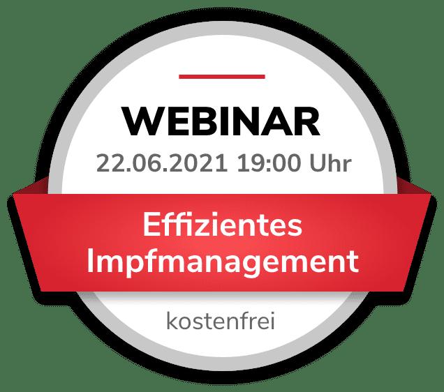Webinar Effizientes Impfmanagement
