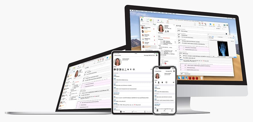 Praxissoftware tomedo für Mac, iPhone und iPad