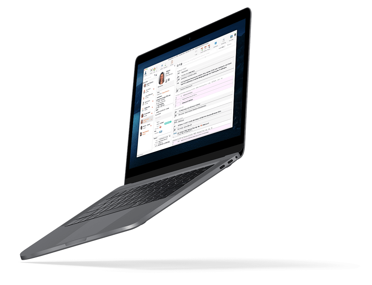 Praxissoftware tomedo MacBook