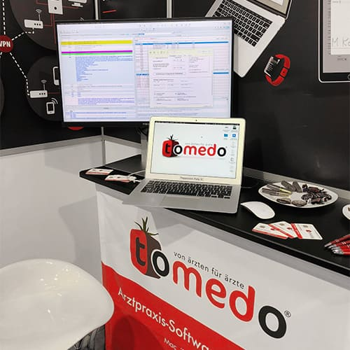 tomedo Messestand