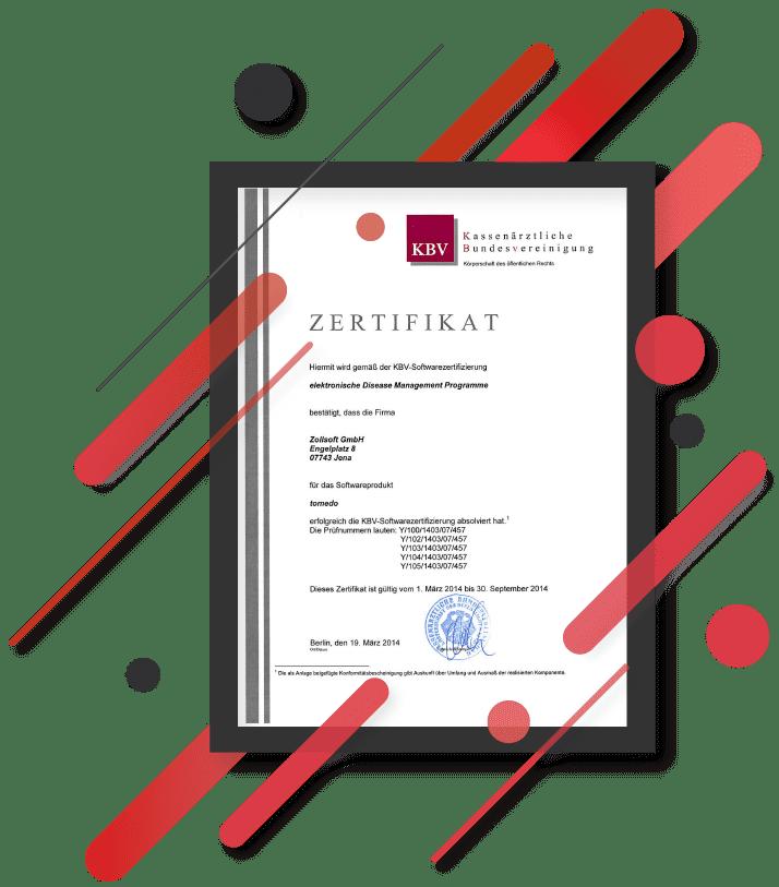 kbv zertifizierung