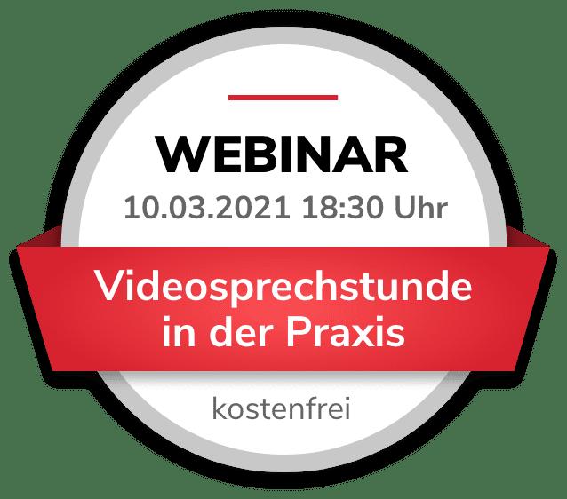 Webinar Videosprechstunde in der Praxis